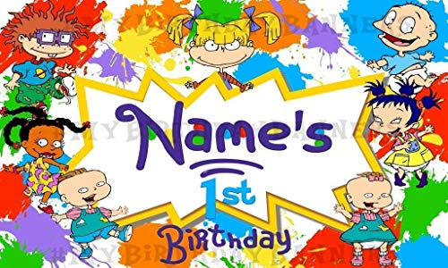 Rugrats Birthday Party Banner Personalized/Custom Decoration -