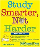 Study Smarter, Not Harder, Kevin Paul, 1551807416