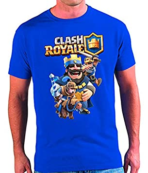 Camiseta Clash Royale Rey (7 - 8 años)