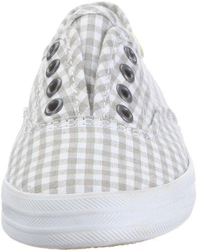 Keds Kids Laceless CVO KT38899A - Zapatillas de lino para niños Blanco