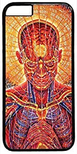 Abstract Artistic Psychedelic Anatomy Case for iPhone 6 Plus 5.5 inch PC Material Black(Compatible with Verizon,AT&T,Sprint,T-mobile,Unlocked,Internatinal) in GUO Shop