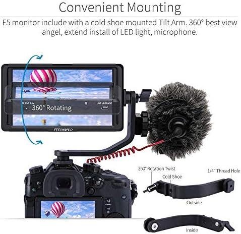 FEELWORLD F5 - Monitor de Campo para cámara réflex Digital de 5 ...