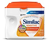 Similac Sensitive Advance Infant Formula with Iron, Powder