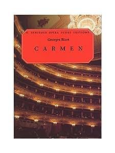 Georges Bizet: Carmen (Vocal Score). Partitions pour Opéra, Chorale