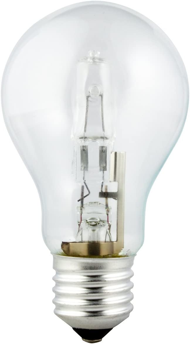 Galex bombilla halógena energy saving A55 clear - E27, 240 V - 105 W