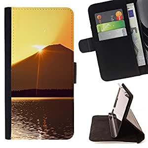 DEVIL CASE - FOR LG Nexus 5 D820 D821 - Sunset Beautiful Nature 60 - Style PU Leather Case Wallet Flip Stand Flap Closure Cover