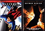 Superman Returns , Batman Begins : Superhero 2 Pack