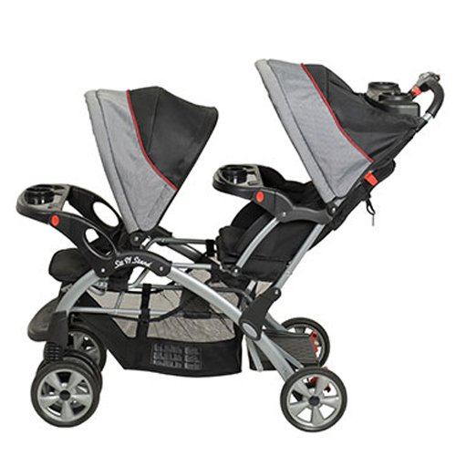 BABY TREND Sit N Stand Double Travel System (2 Car Seats Included) - Millennium by Baby Trend (Image #4)