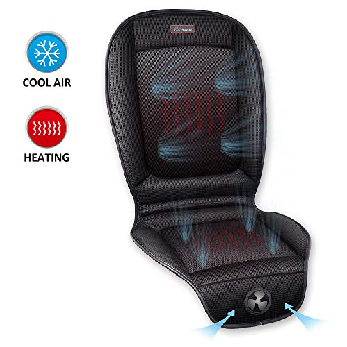 SNAILAX Cooling Seat Cushion for Car - 3 Adjustable Car Fan Speeds & 2 Levels Heating Pad, Car Seat Cooling Pad, Air Conditioned Seat Covers for 12V/24V Automotive Cars Trucks Bus Office Use