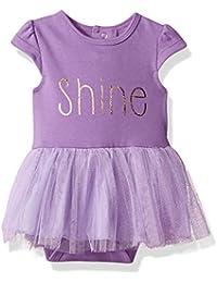Baby Girls' Bodysuit With Tulle Skirt