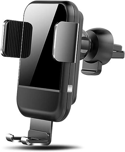 HMHD Cargador Inalambrico Coche, Carga Rapida Smartphone Coche MagnéTico 10W, para iPhone X/XS/XR/8, Samsung S10/S9/S8 /S7/S6: Amazon.es: Coche y moto