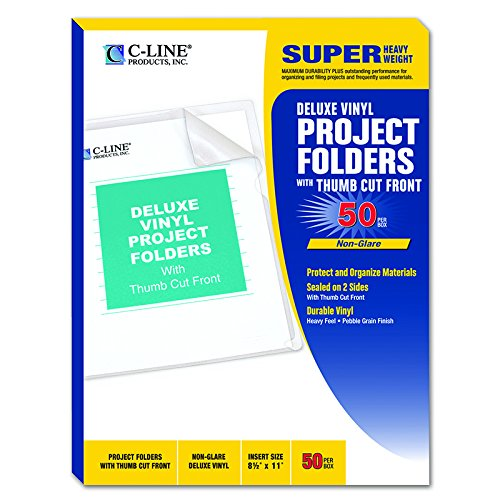 C-LINE PRODUCTS INC C LINE 50BX DELUXE VINYL PROJECT (Set of 3) ()