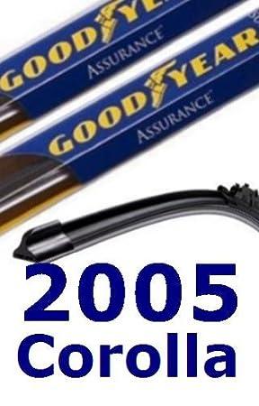 2005 Toyota Corolla repuesto parabrisas limpiaparabrisas (2 ...