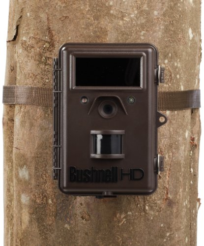 Bushnell 8MP Trophy Cam HD Max Black LED Trail Camera with Night Vision (Model #119576C)