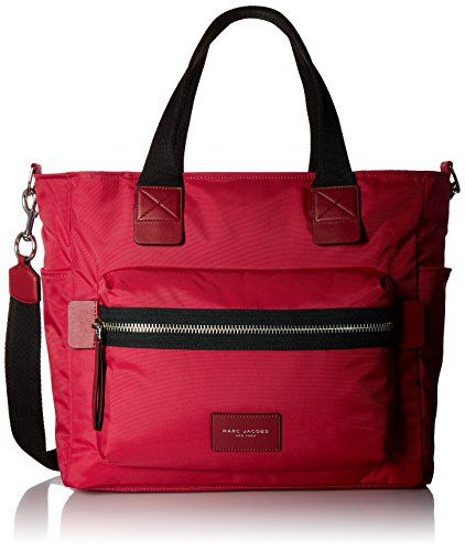 - Marc Jacobs Women's Nylon Biker Babybag, Raspberry