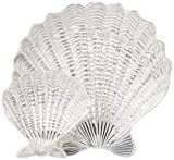 Mariposa 2 Piece Scallop Shell Chip & Dip, NULL