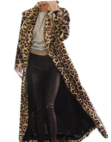 1 amp;W Faux Fur M For amp;S Coat Cardigan Women Winter Khaki UqAPvgw