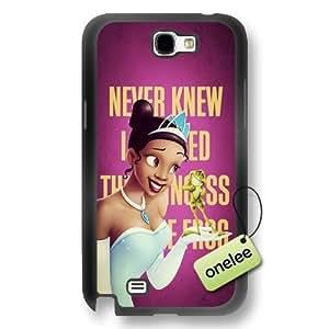 Disney Cartoon Princess and the frog Soft Rubber Phone Samsung Galxy S4 I9500/I9502 - Disney Princess Tiana Samsung Galxy S4 I9500/I9502 - Black
