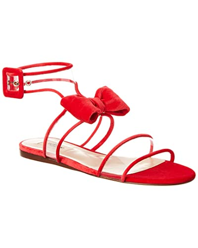 71c8c9bfdb94 Image Unavailable. Image not available for. Color  VALENTINO Dollybow Velvet  Sandal