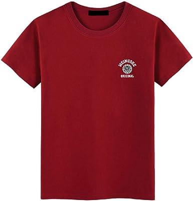 GGYYY La camiseta para hombre - transpirable verano Tee, Protección, Camisa ligero, cómodo de secado rápido Top - para Gym, Viajar, Correr,Red wine-XXL: Amazon.es: Ropa y accesorios