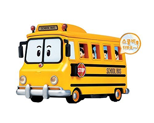 Academy Robocar Poli TV animation - School bi bee (School bus) Carry passengers by Academy