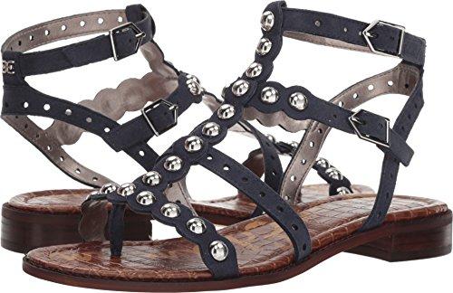 Sam Edelman Women's Elisa Flat Sandal, Inky Navy, 6 M US