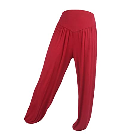 Amazon.com: AKIMPE Clearance Sales! Womens Harem Yoga Pants ...