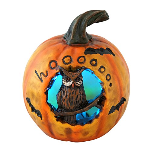 Lighted Color-Changing Pumpkin Halloween Decoration