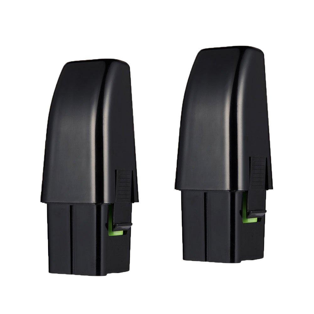 Masione 2Pack 7.2v 2.0ah High Capacity Vacuum RU-RBG Batteries for Ontel Swivel Sweeper G1 & G2 RU-RBG