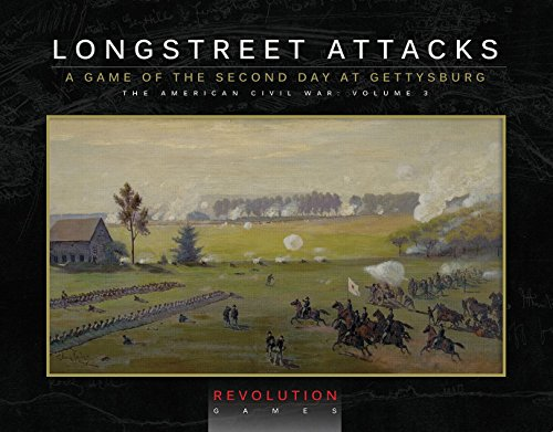 REV Revolution Games REV: Longstreet Attacks, A Game of the Second Day at Gettysburg, 2 July 1863, Boardgame [Packaged in a bookcase box]]()