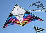 Bee-Kite Thunder- Cerf-volant ascensionnel monofil 470 x 245 cm KAP Cerf-volant planeur - Seulement voile