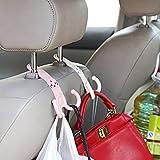 Sedeta Cute Headrest Hook Car Seat Hanger Stand Hanger Organizer Bag Holder Parts Multi-function car trunk hooks Car Aut