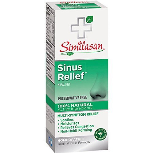 Similasan Sinus Relief Nasal Mist 0.68 oz (Pack of 2)