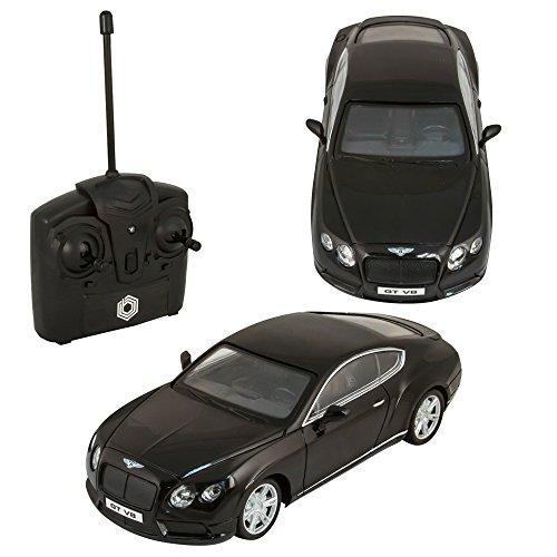 Braha Bentley GT V8 1:24 R/C Car Black (Bentley Model Car compare prices)