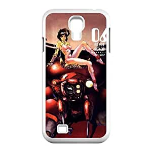 Generic hard plastic Ghost In The Shell Anime Cell Phone Case for Samsung Galaxy S4 White B0543