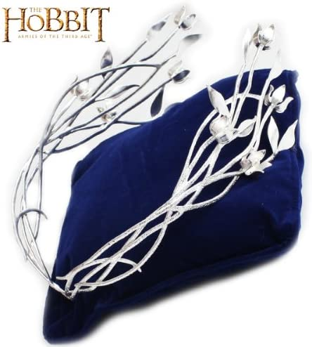 Le Hobbit NN1362 Bijou Le Seigneur des Anneaux Galadriel Diademe Couronne