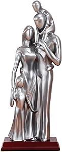 BAIYAN Garden Figurines, Sculpture Decoration Sculpture Home Decor Family Character Sculpture Man Statue Woman Figurine Wedding Home Decoration Artwork