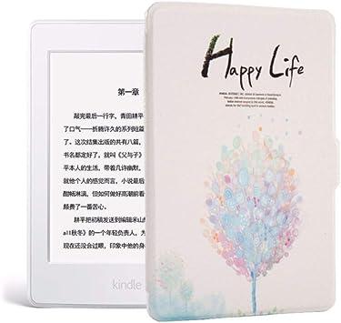 WDBHTAO Funda Kindle Imprime Kindle 8 Caso De Piel para Kindle E-Reader Ebook Delgada Cubierta Auto Sleep/Wakeup Hard Shell: Amazon.es: Electrónica