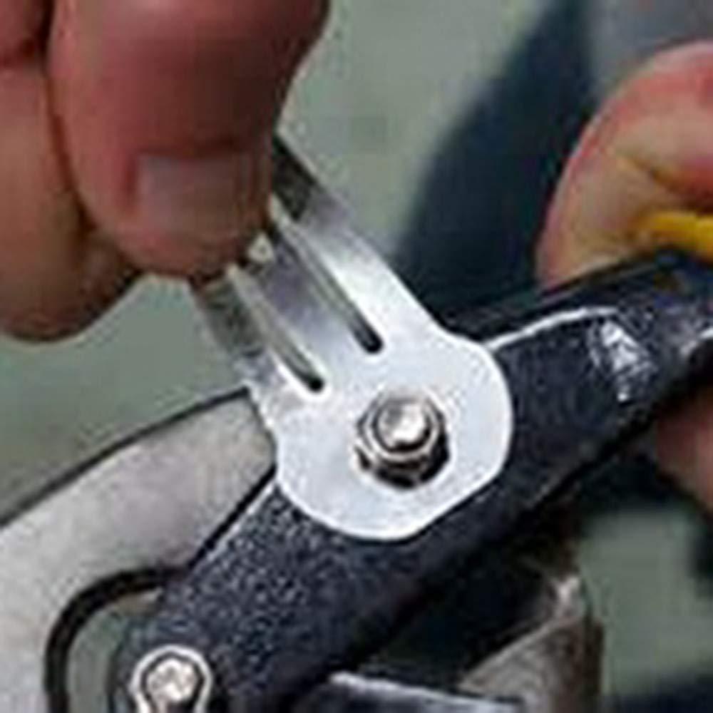 Sicherheit f/ür M/ädchen Multifunktions Outdoor Werkzeuge Bescita Haarclips Metall