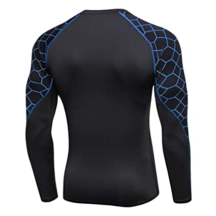 Hombre Entrenamiento Leggings Gimnasio Deportes Gimnasio Running Yoga Camisa Deportiva Top Blusa LILICAT❣ Camiseta de