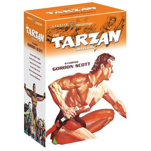 The Tarzan Collection Starring Gordon Scott (Tarzan's Hidden Jungle / Tarzan and the Lost Safari / Tarzan and the Trappers / Tarzan's Fight for Life / Tarzan's Greatest Adventure / Tarzan the Magnificent) by Gordon Scott B01GUPCKME