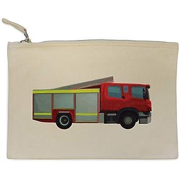 Azeeda Camion de Bomberos Bolso de Embrague / Accesorios Case (CL00008012)
