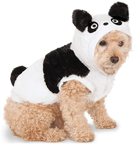 Rubie's Panda Hoodie For Pet, Medium, Multicolor