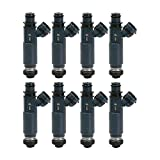 Re-Manufactured OEM Denso 23250-46080 Fuel Injectors for Tundra/Land Cruiser/Sequioa/4Runner/GX470/LX470 4.7L Set of 8