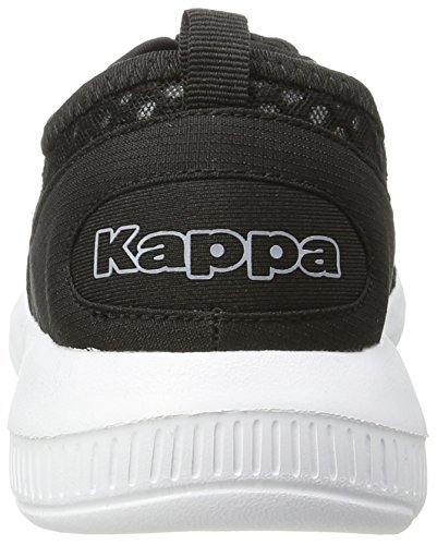 Black Noir Sol Basses Baskets Kappa Mixte Adulte White XY1xq4