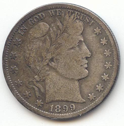 1899 S Barber Half Dollar Fine