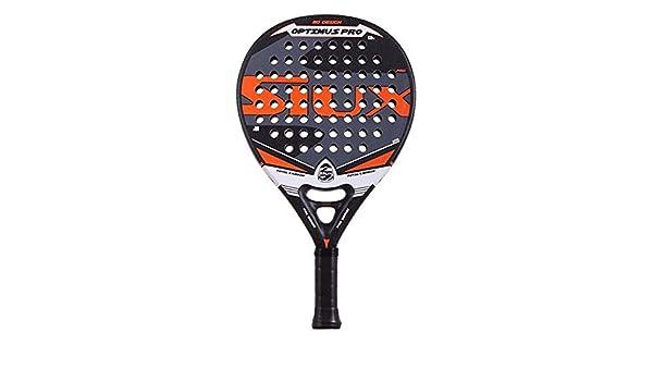Pala de padel SIUX Optimus Pro naranja: Amazon.es: Deportes ...