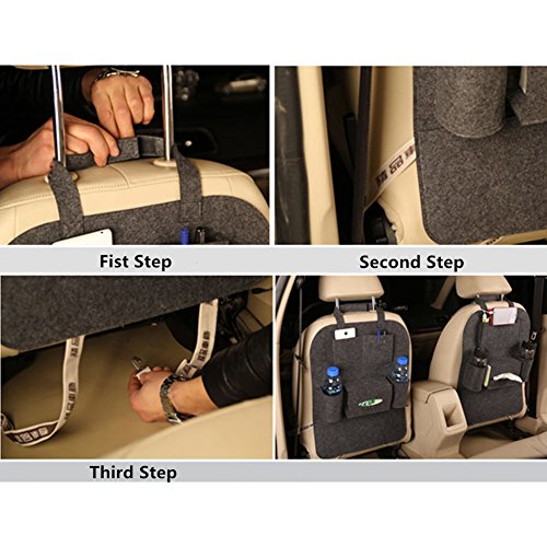 Best car back seat organizer