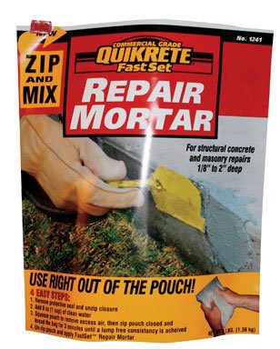QUIKRETE Products : FastSet Repair Mortar Mix