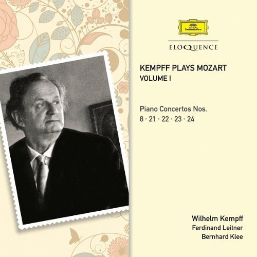 CD : Wilhelm Kempff - Kampff Plays Mozart 1 (Australia - Import, 2PC)